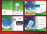 雅可成照明宣传画册cdr设计模板下载