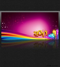2011展板背景
