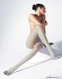 丝袜模特长腿美女