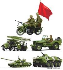 军事设备矢量