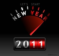 2011新年创意时钟设计