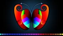 简单蝴蝶图形