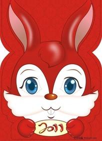 可爱卡通兔子封面