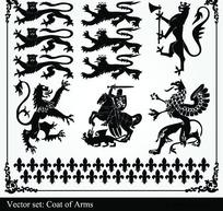 国外骑士装饰图