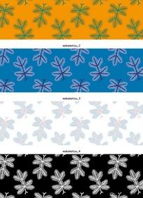 图案树叶印花主题定制家具设计和安装图片