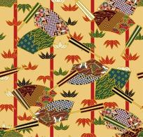 日本风格花纹
