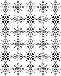 日本素材装饰活字 花纹 底纹3
