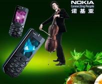 诺基亚音乐手机海报素材
