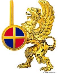 老鹰徽章图案