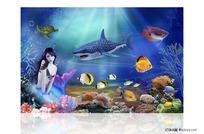 海底世界美人鱼图片素材