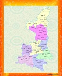行政区域地图图片_行政区域地图设计素材