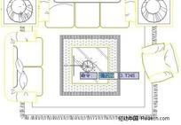 常用家具平立面图块集