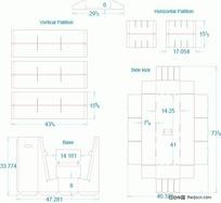 展示盒 展开结构1