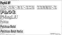 字体文件浏览器