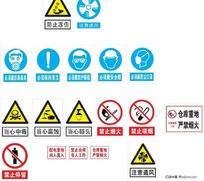 安全标识 指示牌