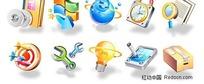 3D质感图标系列矢量素材-2