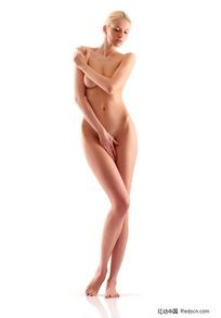 站着的性感裸体美女