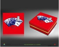 新款江南风红茶包装礼盒设计
