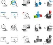 网络搜索图标