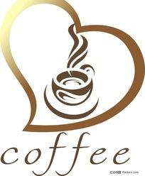 咖啡设计标志