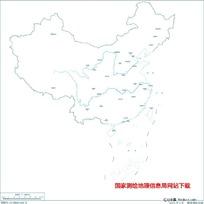 1600万示意地图版10(省会无图廓)