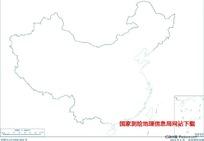 1600万示意地图版2(海岸线无图廓南海诸岛)