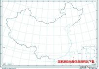 2500万示意地图版1(海岸线南海诸岛)