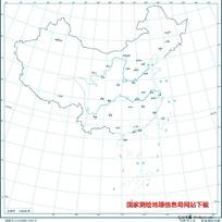 2500万示意地图版9(省会)