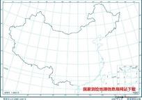 3000万示意地图版1(海岸线南海诸岛)