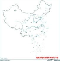3000万示意地图版10(省会无图廓)