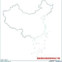 3000万示意地图版2(海岸线无图廓)