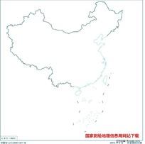 3500万示意地图版2(海岸线无图廓)