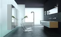 3D浴室场景模型
