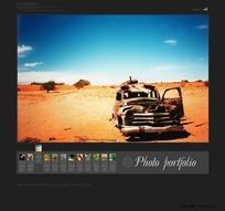 相片组合网页模板
