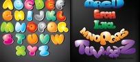 可爱的26个英文字母