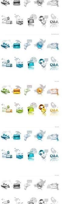 实用网页图标设计