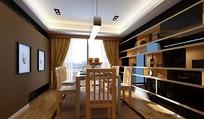 家装 餐厅_2(包括模型 材质 灯光 贴图)