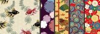 日式传统花纹背景
