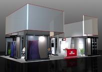 走廊式展览展台展柜展示空间