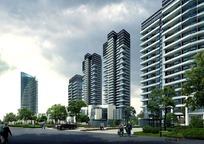 高层小区住宅园林景观设计