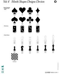 棋牌娱乐图案素材