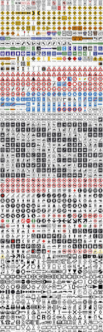 1400款公共标识图标矢量素材大全