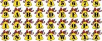 英文字体设计矢量素材