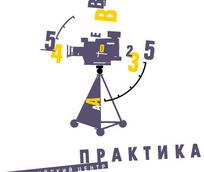 摄像机图案英文字母LOGO设计