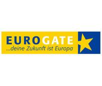 eurogate图案英文字母LOGO设计
