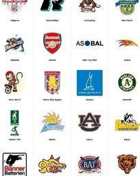 体育类标志设计logo