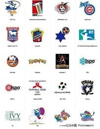 运动类标志logo