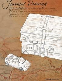 汽车 行李包图片