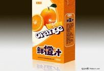 鲜橙汁饮料包装