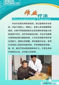 医院展板-作业疗法